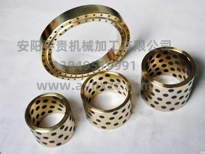 镶嵌石墨铜套厂家